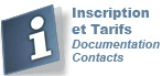 Inscription - Documentation - Contact